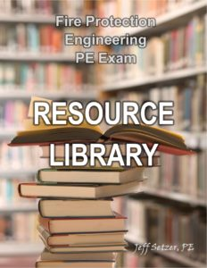 Fire Protection PE Exam Resource Library